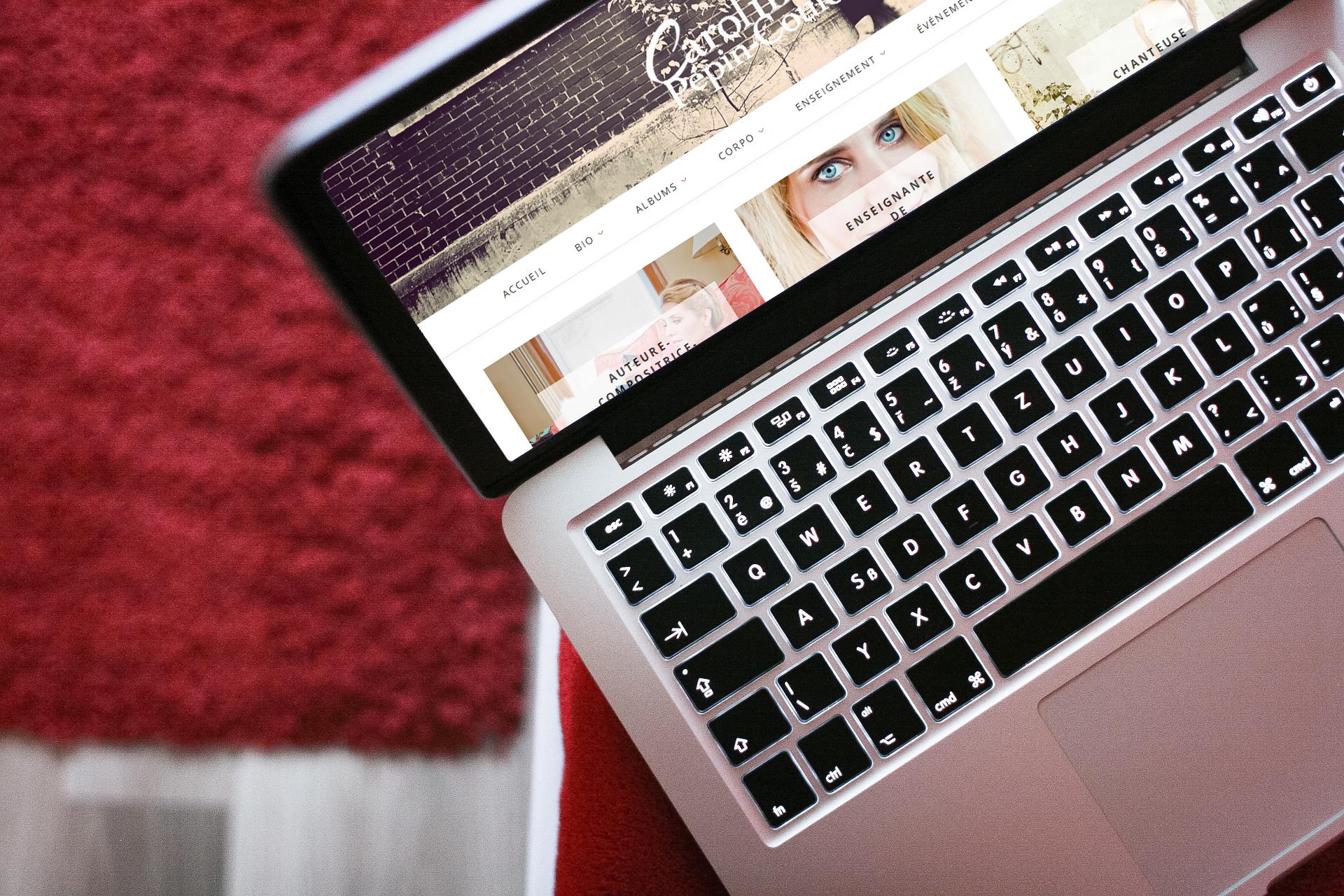 Nouvelle mouture de mon site Web professionnel