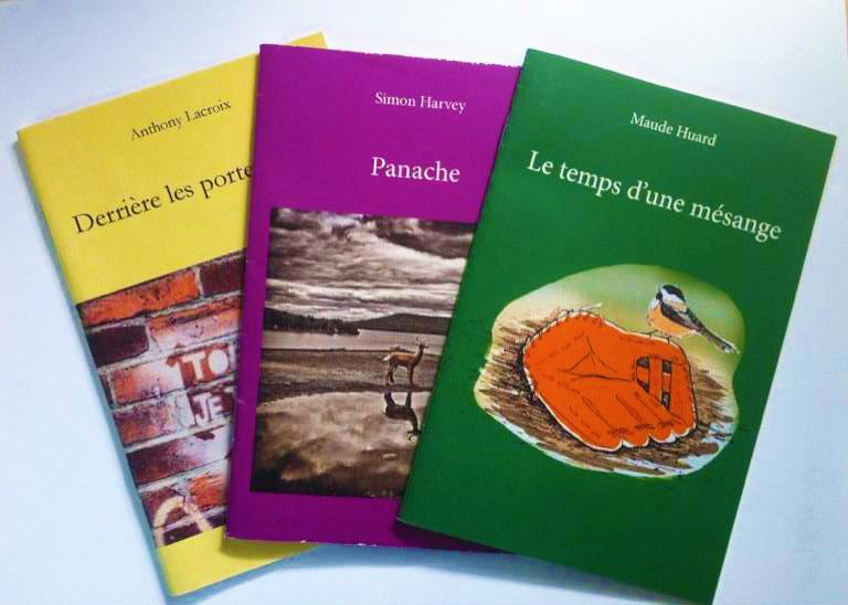 Éditions Fond'tonne – montage de livres