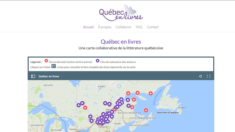 Québec en livres